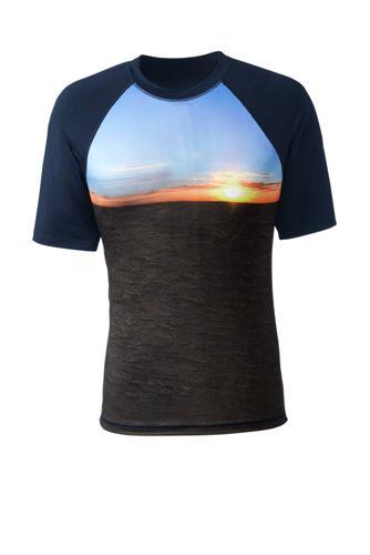 Modernes Bade-Shirt mit fotorealistischem Print