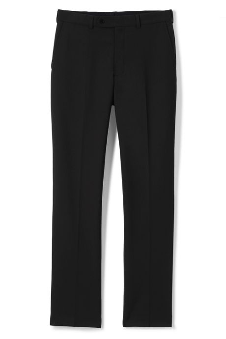 Men's Uniform Plain Front Trousers