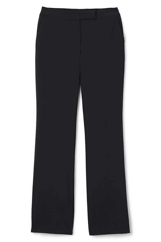 Women's Comfort Straight Leg Trousers, Front