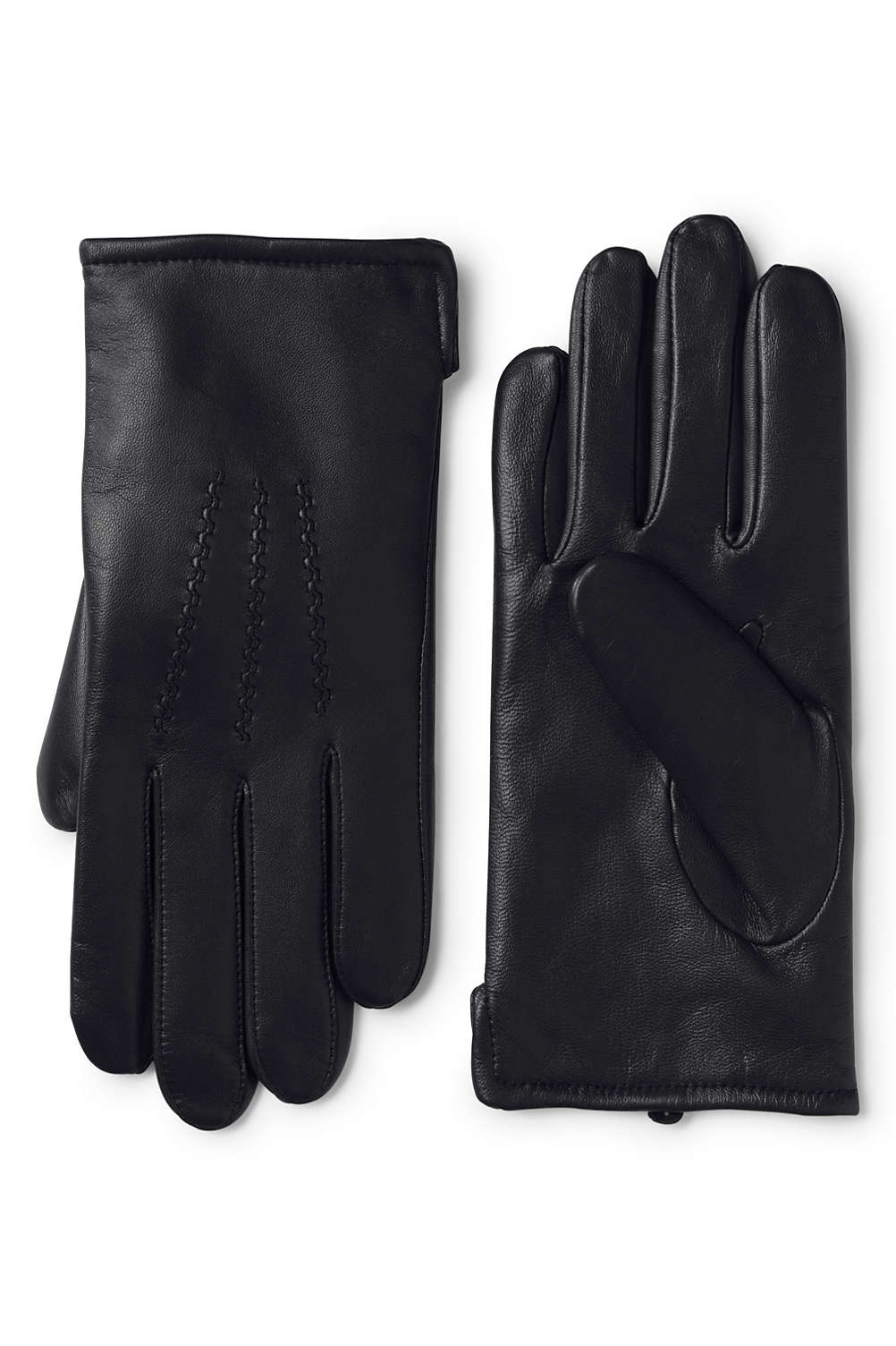 e58ef4f866c7 Men s Cashmere Lined Leather Gloves from Lands  End