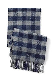 Kaschmirweicher Doubleface-Schal für Herren