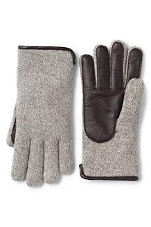 Les Gants Tactiles EZ Touch™ avec Laine et Cuir Homme