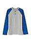 Little Boys' Stripe Sleeve Henley