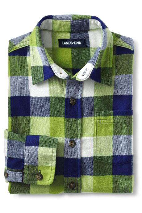 Little Boys Flannel Shirt