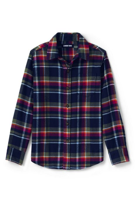 Toddler Boys Flannel Shirt