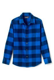 Boys Husky Flannel Shirt