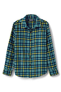 Boys Flannel Shirt, Front