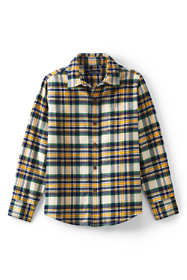 Boys Husky Flannel Shirt