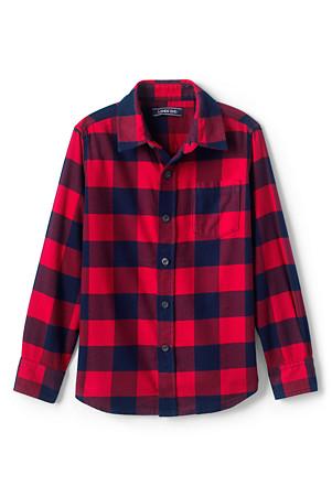 2a0a5f56c Boys' Flannel Shirt | Lands' End