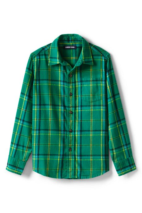 Boys Flannel Shirt