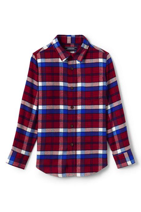 Little Boys Flannel Shirt