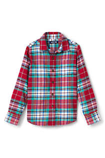 Boys Husky Flannel Shirt, Front