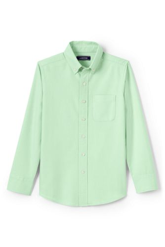 Toddler Boys' Washed Oxford Long Sleeve Shirt