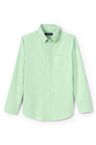 Toddler Boys' Washed Oxford Long Sleeve Shirt