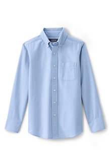 e31b53d14670b Boys  Washed Oxford Long Sleeve Shirt