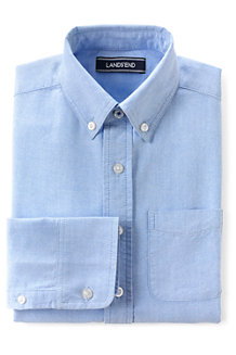 Boys' Washed Oxford Long Sleeve Shirt