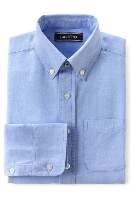 Boys Washed Oxford Shirt