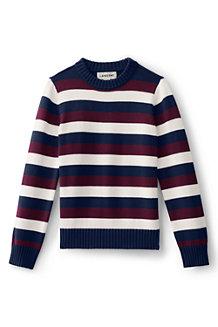 Gestreifter Pullover für Jungen