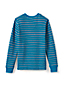 Little Boys' Striped Waffle Crew Neck Tee