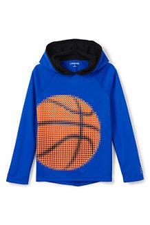 Activewear Grafik-Shirt mit Kapuze für Jungen
