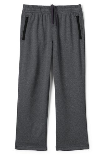 Little Boys Iron Knees Joggers - 4 years - Grey Lands End
