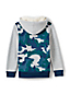 Toddler Boys' Print Colourblock Sherpa-lined Hoodie