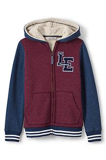 Boys' Varsity Style Sherpa-lined Hoodie