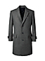 Men's Regular Plaid Wool Blend Overcoat