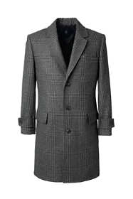 Men's Wool Pattern Topcoat