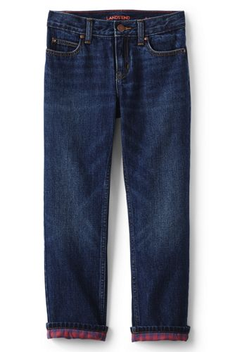 Little Boys' Flannel-lined Classic Fit Iron Knee® Jeans