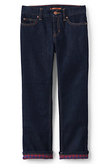 Boys' Flannel-lined Classic Fit Iron Knee® Jeans