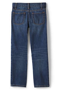 Little Boys Slim Iron Knee Classic Fit Jeans, Back