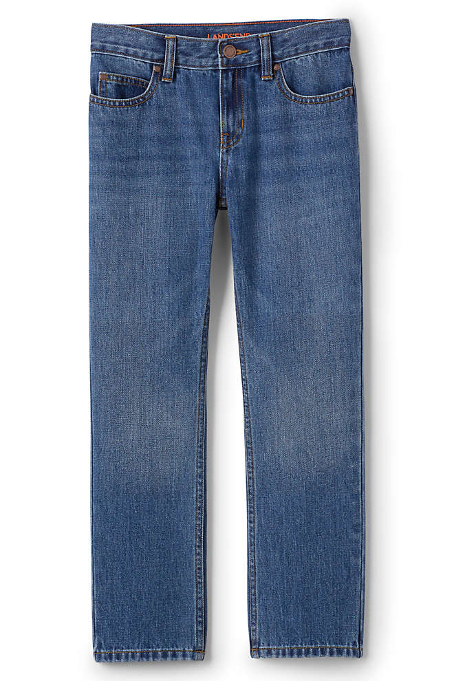 Boys Iron Knee Classic Fit Jeans, Front