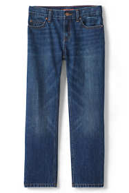 Little Boys Slim Iron Knee Classic Fit Jeans