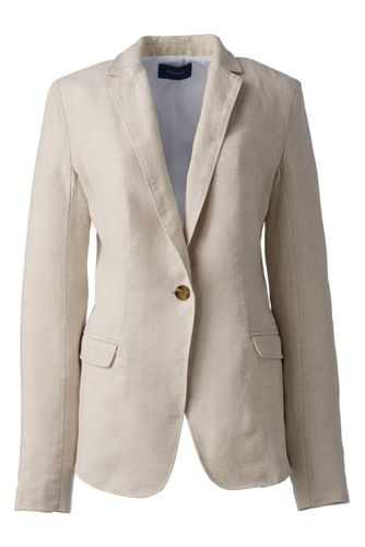 Women's Regular Linen Jacket