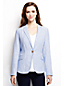 Women's Regular Stripe Linen Jacket