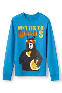 Boys' Long Sleeve Graphic Tee
