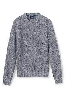 Men's Shaker Rib Drifter Cotton Jumper