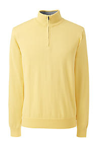 Men's Yellow Pullover Sweaters | Lands' End