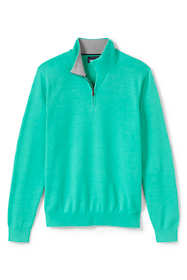 Men's Fine Gauge Supima Cotton Quarter Zip