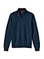 Men's Regular Fine Gauge Zip-neck Jumper