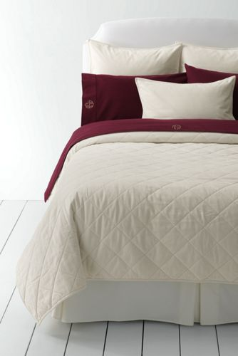 Quilted Velvet Coverlet