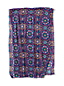 Women's Evening Sapphire Moroccan Tile Scarf