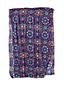 Maxi-Schal mit marokkanischen Ornamenten