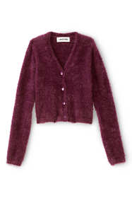 Little Girls Cozy V-Neck Cardigan