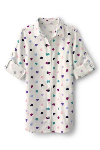 Little Girls' Longer Length Tunic Shirt
