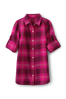 Girls' Longer Length Tunic Shirt