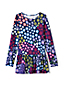 Toddler Girl Long Sleeve Skirted Legging Top