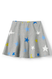 Girls' Academy Pattern Jersey Knit Skort