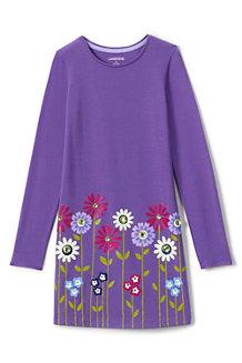 Jerseykleid mit Grafikprint für Mädchen